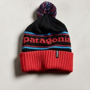 31b09c33 Patagonia Accessories   Powder Town Park Stripe Beanie Hat   Poshmark